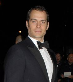 Henry Cavill's hair at BAFTA Film Gala in London ahead of Batman v ...