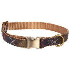 BuyBarbour Tartan Dog Collar, Large Online at johnlewis.com