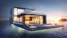 Larger than its predecessors, the Floating Seahorse Signature Edition (Dubai Seahorse Villas) is designed especially for families with children & groups.