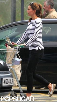 First sighting of Kate since giving birth last month!