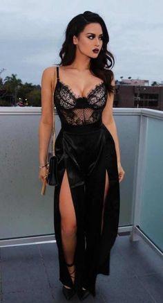 71fcf6913 30 Outfits con Bralettes para que Luzcas Super Guapa Vestidos Cortos