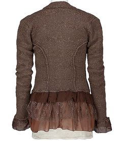 BKE Boutique Pieced Cardigan Sweater