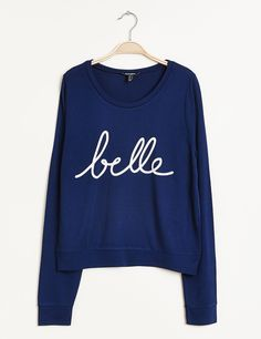 Sweat belle bleu - Jennyfer e-shop