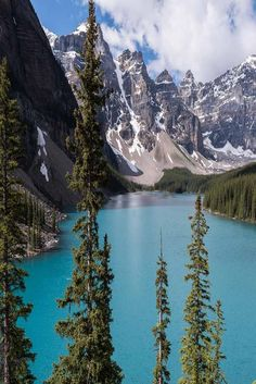 Hike among the mountains, canoe in the lake, or enjoy the scenery throughout at Emerald Lake.