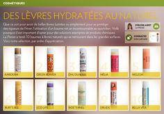 Des lèvres hydratées au naturel - La Presse+ Bio, Health Care, Natural Cosmetics, Beauty Products, Beautiful Lips, Lip Stains, Health