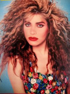 Daily Boom Throwback: Taylor Dayne - 'Tell It To My Heart' Taylor Dayne, Dance Pop, Dance Music, Rock Music, Eighties Music, Eighties Party, 80s Party, Blond, 1980s Hair