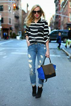simple stripes by brooklyn blonde