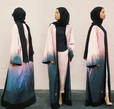 Hijab Fashion 2016/2017: beautiful dress and fashion image