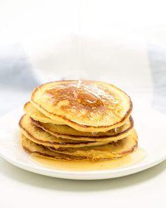 Cornmeal Pancakes | Gluten Free