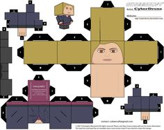CUBEECRAFT DOCTOR WHO   Cubee - Rose Tyler 'Ver2' by CyberDrone on deviantART