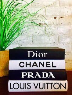 DESIGNER BOOKS SET 4 Books Chanel Louis Vuitton Dior