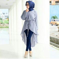 PINTEREST Telegei Modern Hijab Fashion, Street Hijab Fashion, Frock Fashion, Muslim Fashion, Fashion Dresses, Hijab Style Dress, Casual Hijab Outfit, Hijab Fashionista, Stylish Dress Designs