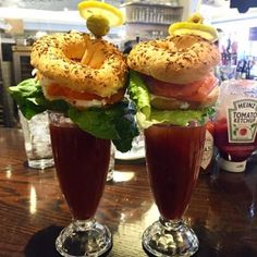 WHERE: Buffalo & Bergen at Union Market - DC <> WHAT: bloody called Lox'd & Loaded