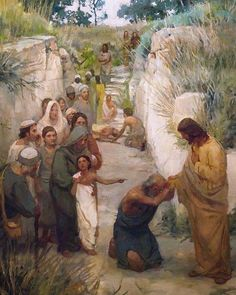 J. Kirk Richards | Jesus Christ | Church of Jesus Christ of Latter-day Saints | Savior | Faith in Christ | Come Follow Me | Well Within Her | Hope | Prince of Peace | Endure to the End | Religious Art #lds #christ #comefollowme #faithinhim #jesuschrist #sharegoodness #religiousart #faith #hope #savior