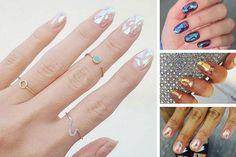 Glass nails : l'effet verre brisé, dernière tendance nail art #manucure #glassnails #vernis #tendance #beauté #monvanityideal