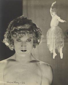 Man Ray, Barbette/ Vander Clyde, 1926