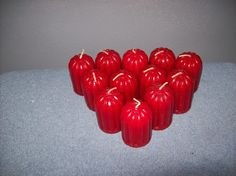 12 home interior apple cinnamon votive candles Christmas in July Sale!