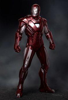 Artes conceituais para o filme Homem de ferro 3