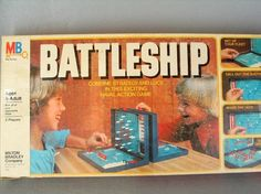Battleship and Salvo Vintage 1978 Game from Milton Bradley