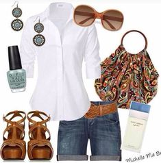 Cool summer chic