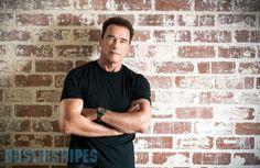 Actor Arnold Schwarzenegger (Dustin Snipes)
