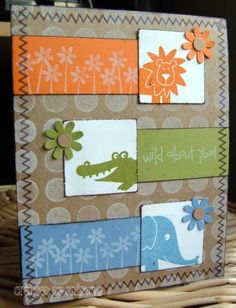 SC133 Wild About You by Onita76 - Cards and Paper Crafts at Splitcoaststampers