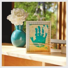 Gorgeous Handprint Card for Mother's Day