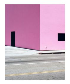 Pink Wall by George Byrne Minimal Photography, Color Photography, Tales Of Tomorrow, Pantone, Pink Walls, My Favorite Color, Photo Art, Minimalism, Art Prints