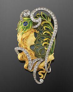 1000 Images About Jewellery Jugendstil Art Nouveau On