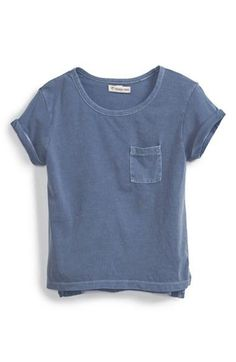 Girl's Tucker + Tate Pocket Tee Size M