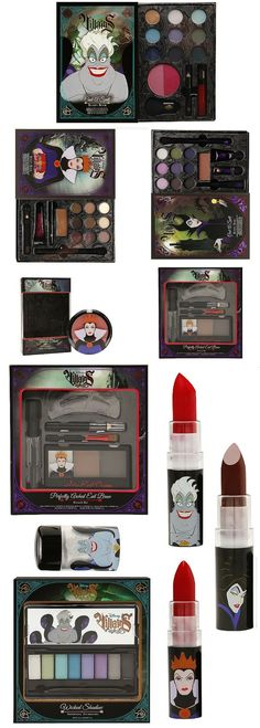 Wet n Wild Disney Villains Makeup Collection Arrives | http://www.musingsofamuse.com/2016/01/wet-n-wild-disney-villains-makeup-collection-arrives.html