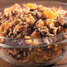 Citrus-Scented Fruit & Wheat Salad #wholegrains #victoriograinmills #healthyliving