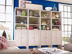Create a beautiful and tidy space in your living room with #Selectives from @HomeDepot.