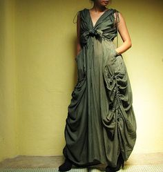 .Dark Green mix silk