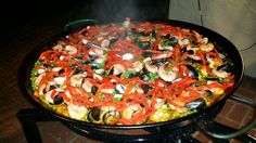 Paella by savory roads catering