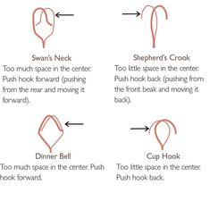 Spindle Hook Alignment Does your spindle seem out of balance? It might be your hook. Follow these simple steps for wobble-free spinning. Cup Hooks, Drop Spindle, Dinner Bell, Hand Spinning, Textile Art, Fiber, Crafting, Simple, Spinning