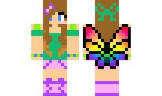 minecraft skin Fairy-Girl Find it with our new Android Minecraft Skins App: https://play.google.com/store/apps/details?id=studio.kactus.girlskins