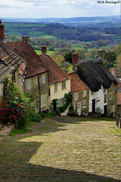 Gold Hill...Shaftsbury.. UK