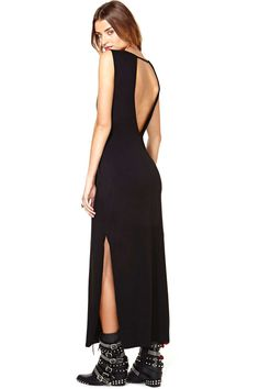 Nasty Gal Kiara Maxi Dress   Shop Designed By Us at Nasty Gal