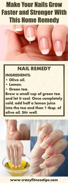 Make Your Nails Grow Faster and Stronger With This Home Remedy
