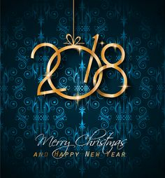 Christmas and new year messages, merry Christmas and new year 2018 Whatsapp status, merry Christmas and happy new year wallpaper.