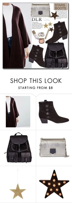 """""""DLRBOUTIQUE"""" by jelena-880 ❤ liked on Polyvore featuring Yves Saint Laurent, Jimmy Choo and Bloomingville"""