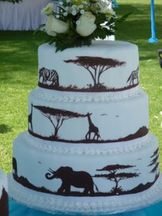 African+Traditional+Wedding+Cakes