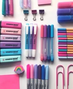 You can use popular stationery such as Zebra Mildliner highlighters, . You can use popular stationery such as Zebra Mildliner highlighters, . Zebra Mildliner, Milk Color, Cool School Supplies, Office Supplies, Tumblr School Supplies, Study Room Decor, Stationary Store, Cute Stationary School Supplies, Stationary Design