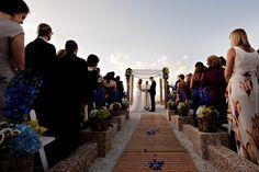 Wedding at South Seas Resort, Captiva Island: Agus & Danny ~ July 09, 2013  Photo by Maloman Studios