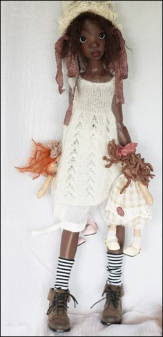 Kaye Wiggs Dolls  BLACK TOBY my favourite