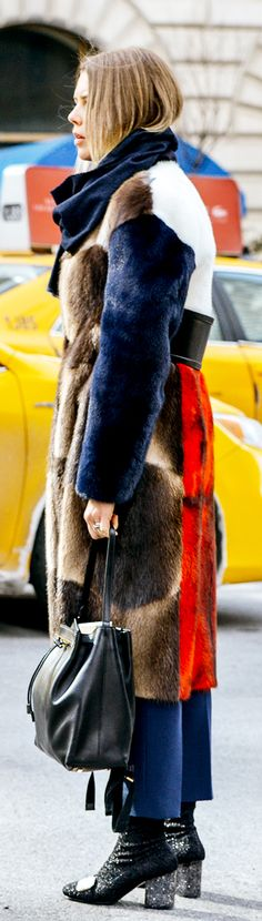 New York Fall Fashion Week | Photo by Tommy Ton | justjune