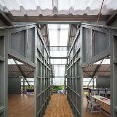 Thai architects develop a building typology for disaster-resistant schools | Design Indaba
