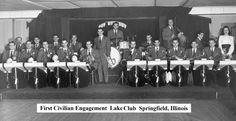 """Band at the """"Lake Club."""""""