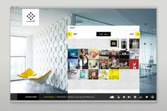 IPG Mediabrands Homepage - Bureau Oberhaeuser - Information & Interfacedesign